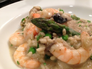 Recipe spicy tiger prawn risotto eating owt for Spicy prawn risotto